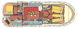 Hausboot P.1180FB (Layout)