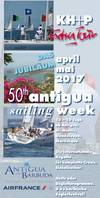 Abbildung Antigua Sailing Week (ASW) Flyer
