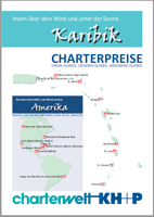 Karibik-Charter-Preisliste - Virgin Islands, Leeward Islands, Windward Islands (Abbildung)